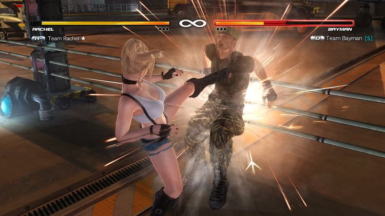 Một pha combo đẹp mắt trong Dead Or Alive 5 - Last Round